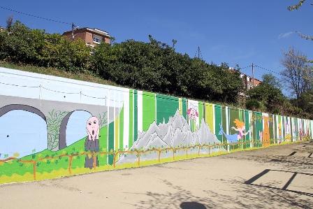 Mural acabat